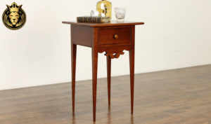 Coventry Antique Style Hand Carved Nightstand
