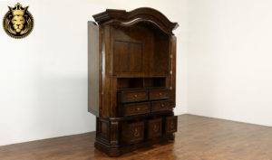 Derby Antique Style Hand Carved Wardrobe