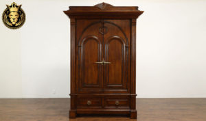 Derry Antique Style Hand Carved Wardrobe