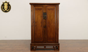 Durham Antique Style Hand Carved Wardrobe