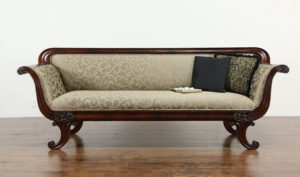 Geelong Antique Style Hand Carved 3 Seater Sofa