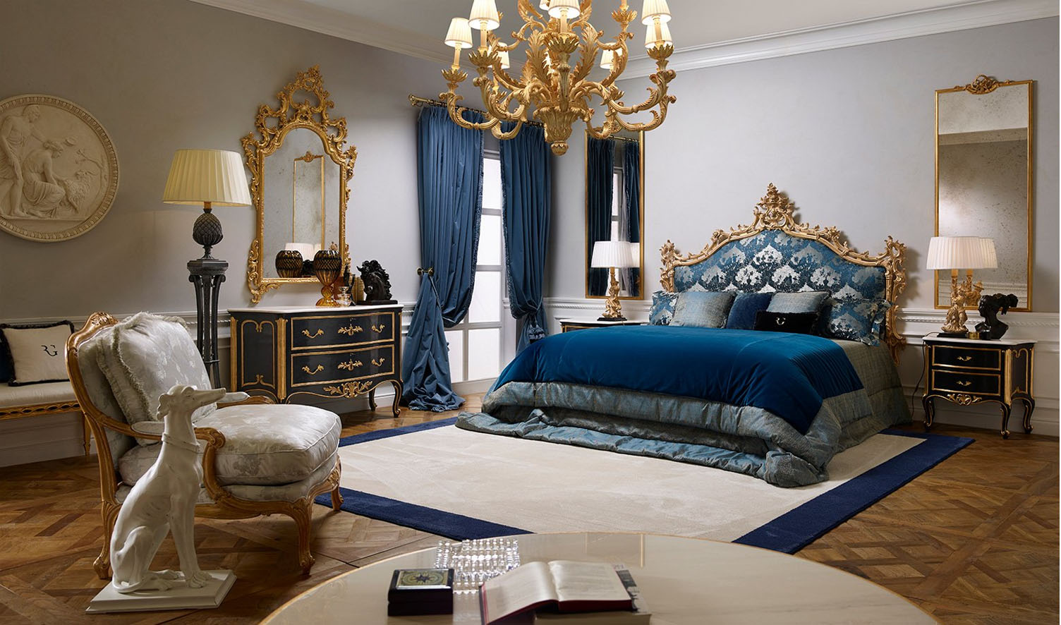 Neo Classic Style Bengaluru Collection Bedroom