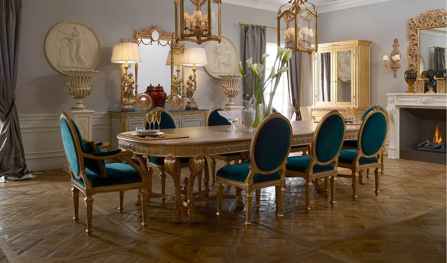 Neo Classic Style Bengaluru Collection Dining