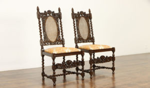 Oxford Antique Style Hand Carved Dining Chair